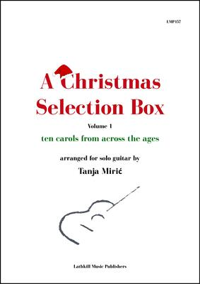 cover of A Christmas Selection Box arr. Tanja Miric
