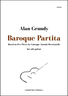 cover of Baroque Partita - Bresianello arranged by Alan Grundy