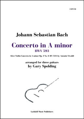 cover of Concerto in A minor BWV 593 by Bach (after Vivaldi) arranged by Gary Spolding