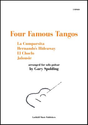 cover of Four Famous Tangos arr. Gary Spolding