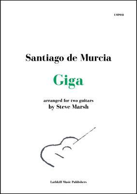 cover of Giga by Santiago de Murcia arr. Steve Marsh