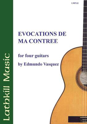 cover of Evocations de ma Contrée by Edmundo Vasquez