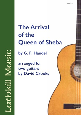 cover of The Arrival Of The Queen of Sheba