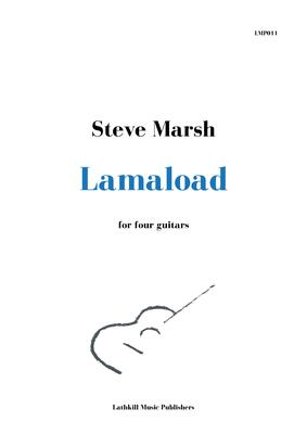 cover of Lamaload for guitar ensemble