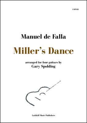 cover of Miller's Dance by Falla arranged for four guitars by Gary Spolding