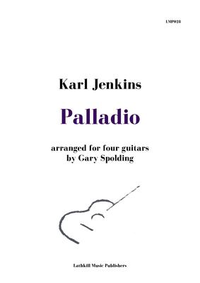 cover of Palladio by Karl Jenkins arranged for four guitars by Gary Spolding