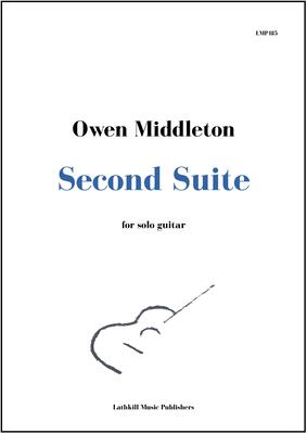 cover of Second Suite for Solo Guitar by Owen Middleton
