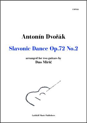 cover of Slavonic Dance Op. 72 No. 2 arr. by Duo Miric