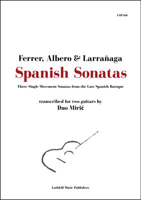 cover of Spanish Sonatas trans. by Duo Miric