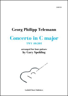 cover of Concerto in C major, TWV 40:203