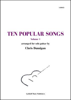 cover of Ten Popular Songs vol. 1 arr. Chris Dumigan