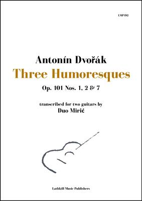 cover of Three Humoresques by Dvorak arranged by Duo Miric