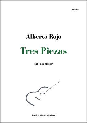 cover of Tres Piezas by Alberto Rojo