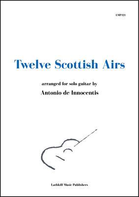 cover of Twelve Scottish Airs arr. Antonio de Innocentis