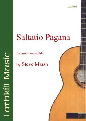 cover of Saltatio Pagana by Steve Marsh