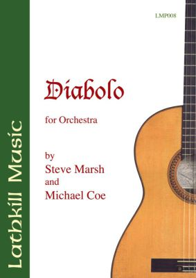cover of Diabolo for Orchestra by Steve Marsh and Michael Coe