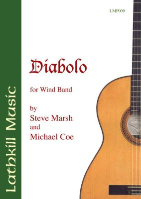 cover of Diabolo for Wind Band by Steve Marsh and Michael Coe
