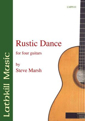 cover of Rustic Dance for guitar ensemble