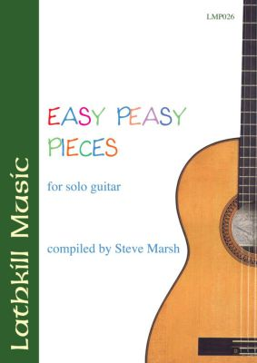 cover of Easy Peasy Pieces compiled by Steve Marsh