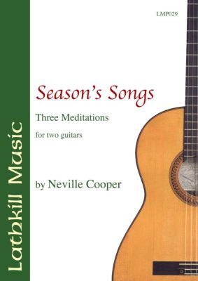 cover of Season's Songs by Neville Cooper