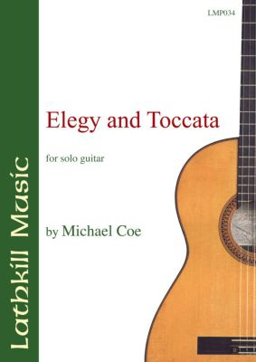 cover of Elegy and Toccata by Michael Coe