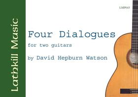 cover of Four Dialogues by David Hepburn Watson