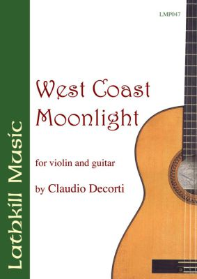cover of West Coast Moonlight by Claudio Decorti