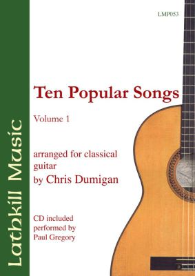 cover of Ten Popular Songs Vol 1 (arranged by Chris Dumigan)