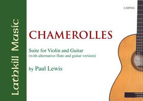 cover of Chamerolles (with alternative guitar and flute version) by Paul Lewis