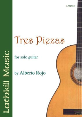 cover of Tres Piezas by Alberto Rojo