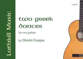 cover of Two Greek Dances by Dimitri Fampas