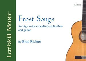 cover of Frost Songs by Brad Richter