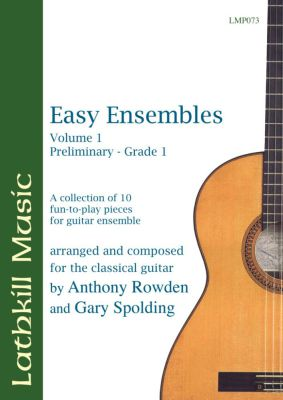 cover of Easy Ensembles Vol 1 by Anthony Rowden and Gary Spolding