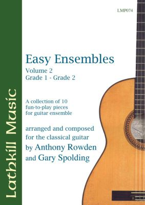 cover of Easy Ensembles Vol 2 by Anthony Rowden and Gary Spolding