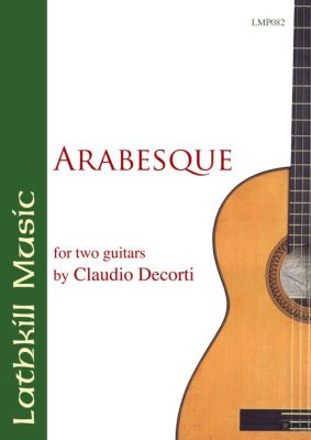 cover of Arabesque by Claudio Decorti