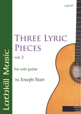 cover of Three Lyric Pieces vol. 2 by Joseph Starr