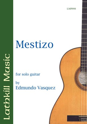 cover of Mestizo by Edmundo Vasquez
