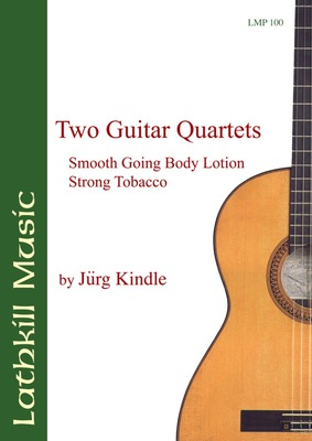 cover of Two Guitar Quartets by Jürg Kindle