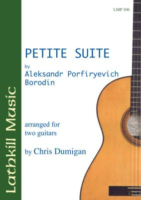 cover of Petite Suite by Aleksandr Porfiryevich Borodin (arranged by Chris Dumigan)