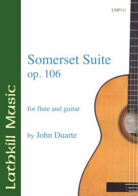 cover of Somerset Suite op.106 by John Duarte