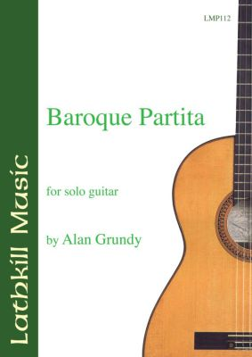 cover of Baroque Partita by Alan Grundy