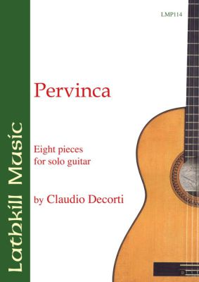 cover of Pervinca by Claudio Decorti