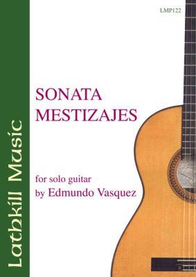 cover of Sonata Mestizajes by Edmundo Vasquez