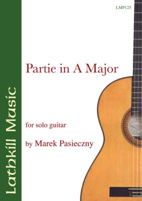 cover of Partie in A Major by Marek Pasieczny