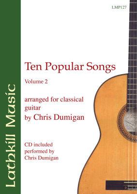 cover of Ten Popular Songs vol. 2 arr. Chris Dumigan