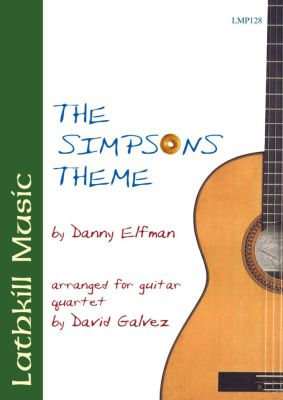 cover of The Simpsons Theme by Danny Elfman (arranged by David Galvez)