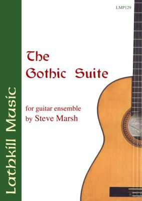 cover of The Gothic Suite for guitar ensemble