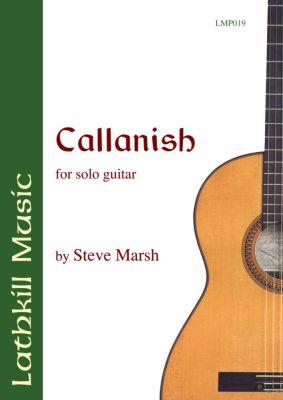 cover of Callanish by Steve Marsh
