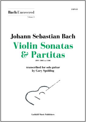 cover of Volume 3 Violin Sonatas & Partitas