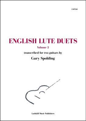 cover of English Lute Duets volume 2
